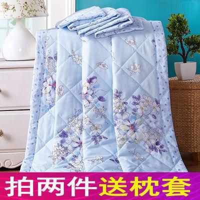 【5折清仓中】夏凉被空调被薄被子儿童可直接机洗单双人舒适透气