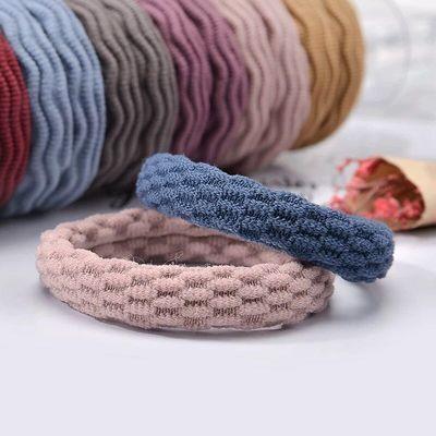 扎头皮筋女成人发绳20条罐装加粗无缝接韩国发圈高弹力毛巾发圈