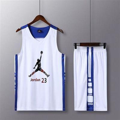 篮球服套装男定制aj科比欧文杜兰特艾佛森球衣背心比赛团购印字潮