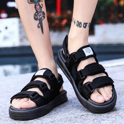男士凉鞋男特大码48夏季47两用一字凉拖鞋46室外穿防滑45韩版潮流