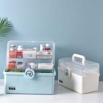 药箱家庭装医疗急救药品多层大容量全套大号医护收纳盒家用医药箱