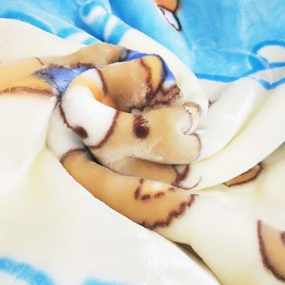 新生婴儿云毯秋冬四季儿童毯双层加厚宝宝毛毯幼儿园保暖双面盖毯