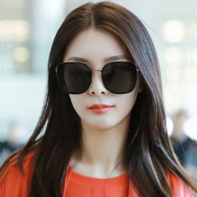2020新款太阳镜防紫外线女复古时尚大框圆胖脸型韩版潮流墨镜ins