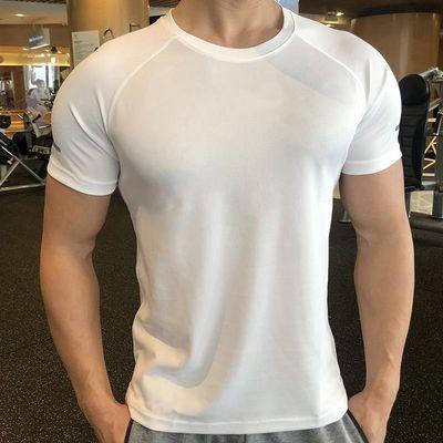 健身紧身衣男夏季篮球跑步训练速干衣吸汗透气运动短袖T恤健身服