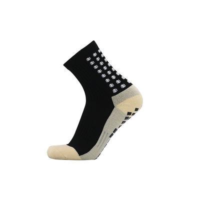 男士纯棉中筒足球袜训练袜毛巾底防滑耐磨篮球运动跑步长筒袜子