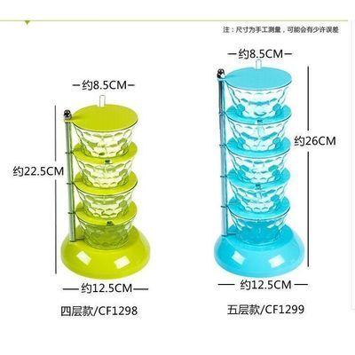 可旋转式调味盒立式可旋转式调味盒立式多层家用佐料罐子套装
