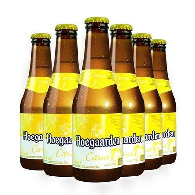 【热卖】比利时福佳玫瑰/柠檬果味啤酒福佳白玫瑰口味250ml*6瓶女