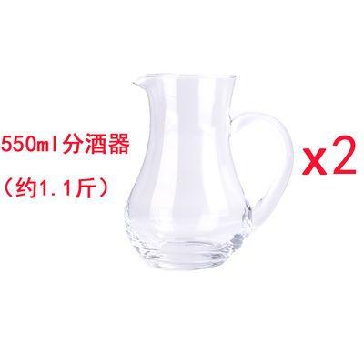 2020新款精品7件套玻璃白酒杯套装分酒器酒壶酒具子弹杯酒杯白酒