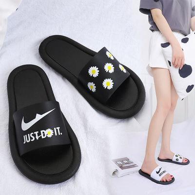 2020夏季爆款拖鞋女学生外穿韩版个性搭配一字拖情侣凉鞋室内拖鞋