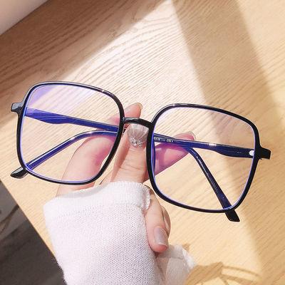 40086/超轻大方框眼镜架男女潮韩版防辐射抗蓝光平光镜可配有度数近视镜