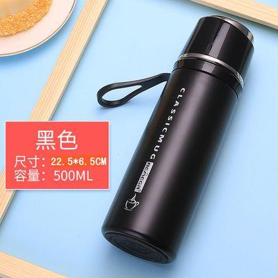 新款水杯316不锈钢保温杯壶女学生韩版创意男便携户外滤网茶杯子5