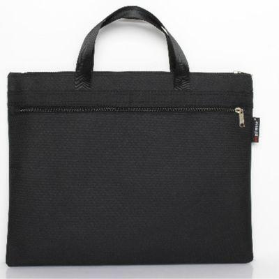 商务防水帆布文件袋双层拉链手提袋会议公文包定制品资料袋收纳包