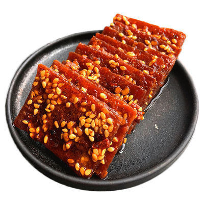 热卖猪肉脯 四川 麻辣猪肉脯猪肉片猪肉干独立小包装100g休闲零食