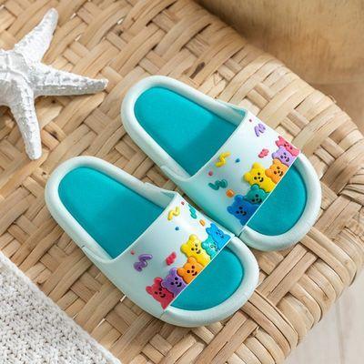 儿童浴室拖鞋防滑专用女童男童夏洗澡2020新款卡通可爱软底凉拖