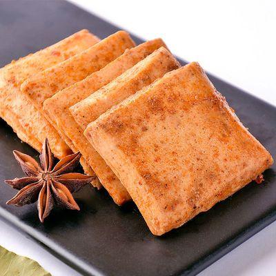 盐津铺子鱼豆腐鱼板烧豆干麻辣特价零食香辣批发礼包素食20包
