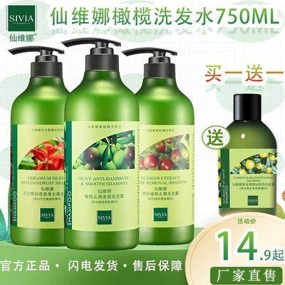 仙维娜橄榄去屑洗发水香味持久止痒控油洗发露女洗发水男士洗头膏
