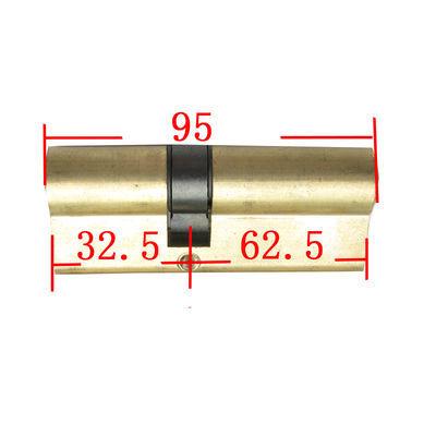 防盗门锁芯 家用全铜老式铁门双面通用型锁芯纯铜大门AB锁具锁芯