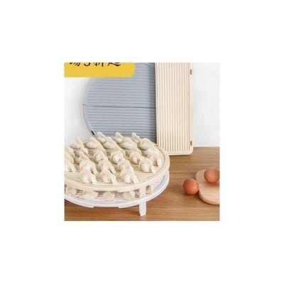 可折叠冰箱饺子帘面食单层可叠加盖垫家用水饺餐垫盖放饺子的托盘
