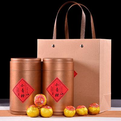 正宗新会小青柑普洱茶叶宫廷普洱熟茶柑普茶水果茶礼盒装100-500g