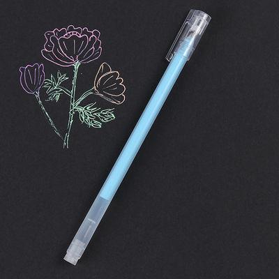 【9只装】超大容量彩色荧光中性笔9色套餐糖果色水粉笔高光粉彩笔