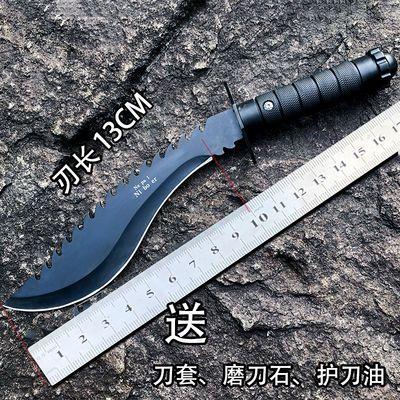 附赠刀套户外刀具高硬度军刀直刀户外水果刀户外登山防身刀迷你刀