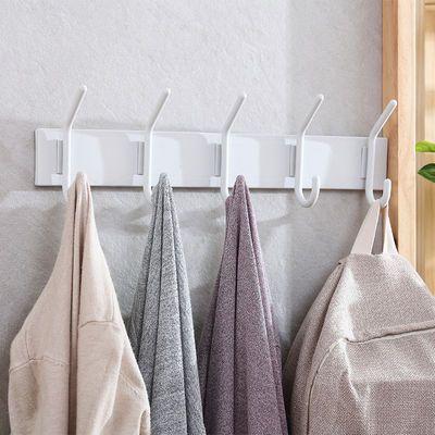 家用墙壁免钉粘胶挂钩厨房粘贴排钩无痕粘钩浴室壁挂门后挂衣钩