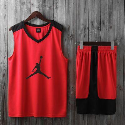 青少年篮球服套装男女情侣装学生队服比赛训练服短袖定制儿童球衣