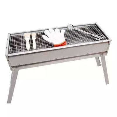 爆款可折叠烧烤架子烧木炭野炊户外用品全套工具大小号野餐烤羊肉