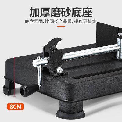 大嘴多角度350型材切割机355大功率钢材机 多功能木材切割机 举