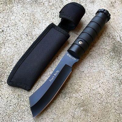 附赠刀套户外刀具多功能瑞士军刀小直刀高硬度迷你水果刀防身小刀