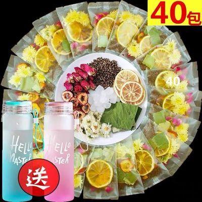 【厂家直销】轻松瘦柠檬片荷叶茶纤体水果茶菊花减玫瑰花茶养生茶