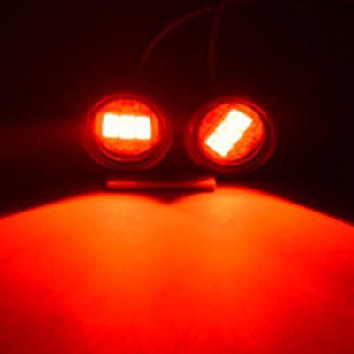 汽车摩托车电动车led鹰眼灯爆闪七彩灯后视镜灯12V鬼火闪光螺丝灯