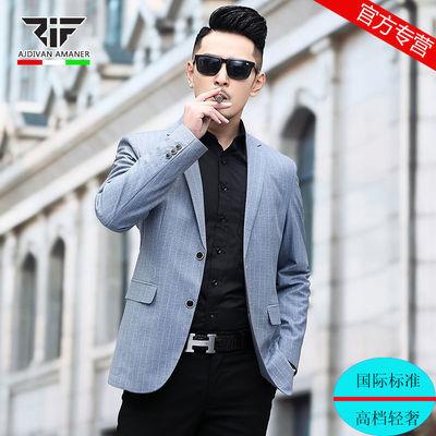 乔奇阿玛尼男装新款男士西装外套商务休闲小西服中青年薄款单西潮