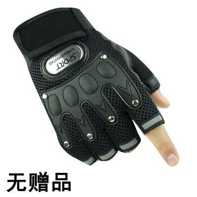特种兵手套男春夏半指运动健身半截手套户外骑行防滑耐磨战术手套