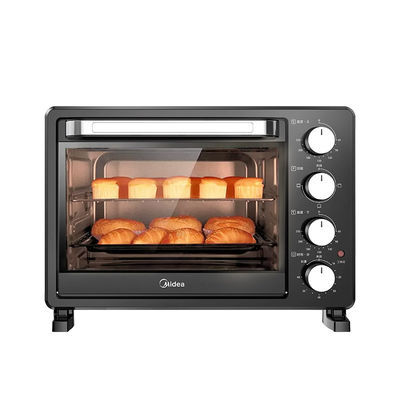 美的电烤箱家用烘焙小型烤箱多功能全自动蛋糕大容量正品PT2500