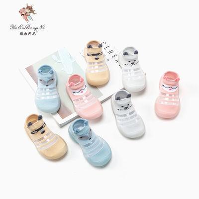 0-1-2-3岁婴幼儿夏季薄款地板鞋防滑软底学步鞋袜