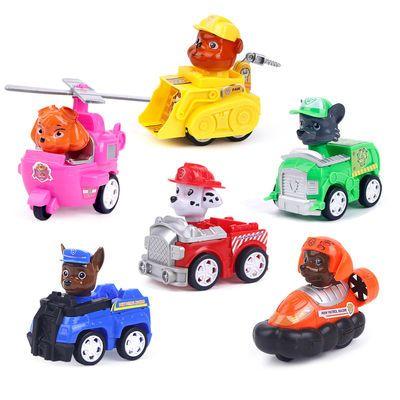 汪汪队立大功儿童玩具小猪佩奇巡逻工程车汽车男孩女孩旺旺队套装