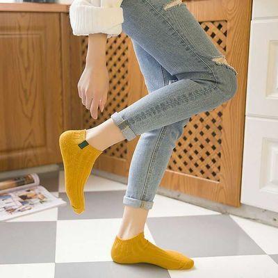 【超值5-10双装】袜子女薄款中筒情侣袜简约学院风百搭韩版糖果袜