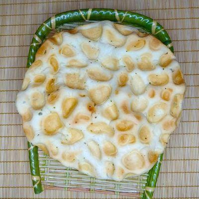 陕西特产石子锅盔馍传统手工美食石头饼锅盔糕点干烤馍10个饼包邮