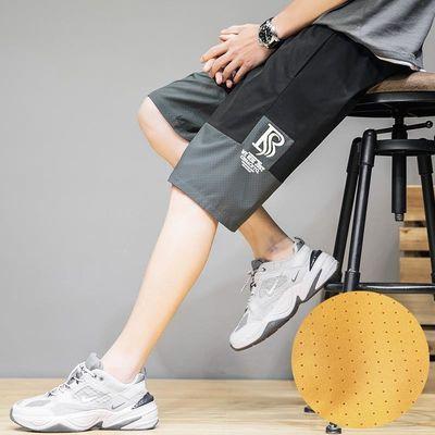 2020夏季跑量款短裤男日系宽松大码港风薄款休闲裤五分裤521-P18