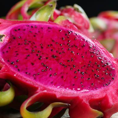 新鲜金都一号红心火龙果6个装当季应季水果红肉包邮小果时令热带【8月2日发完】