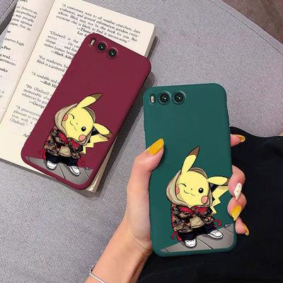 小米6手机壳男女硅胶全包防摔磨砂软壳Xiaomi6x可爱网红超薄新款