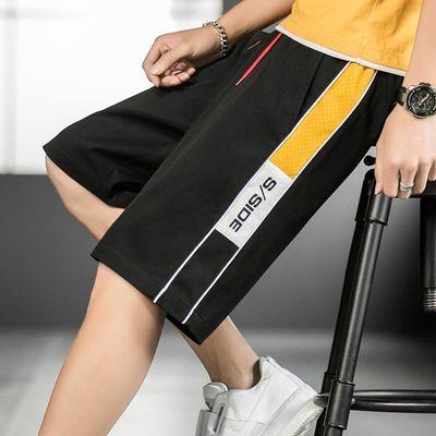 2020夏季跑量款短裤男日系宽松大码港风薄款休闲裤五分裤520-P18
