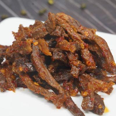 美食作家王刚四川成都自贡休闲小吃熟食零食冷吃牛肉105g205g包邮