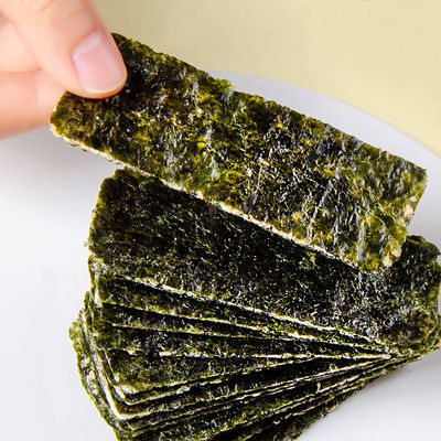 好想你海苔夹心40g*6罐即食芝麻巴旦木兰瓜子味韩国进口斑紫菜
