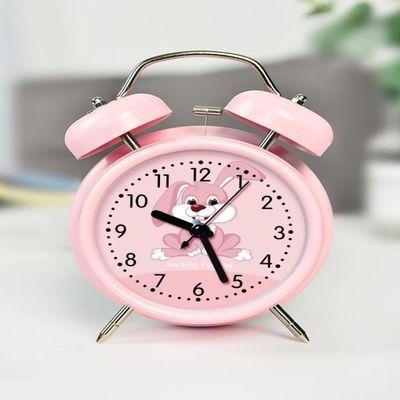 小闹钟学生用静音床头夜光儿童电子闹钟声音超大个性创意懒人闹铃