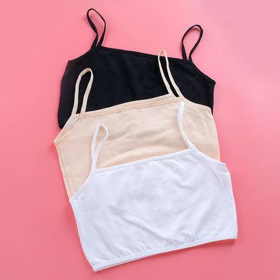 发育期小背心初中学生10-13-16岁高中少女文胸大童纯棉女孩内衣薄