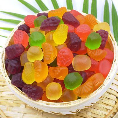 什锦8味橡皮糖qq糖软糖喜糖200克混合味袋装新品休闲食品儿童零食