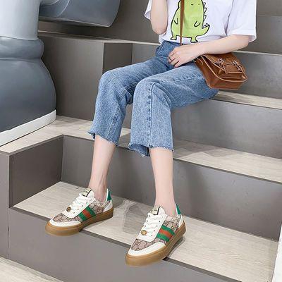 凉鞋女学生韩版夏季2020新款牛筋底网鞋运动透气小白薄款女鞋is潮