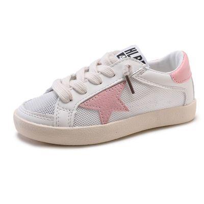 潮童板鞋2020春季新款儿童鞋套脚休闲鞋男女童百搭小白鞋小孩单鞋